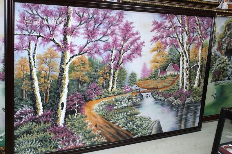 精美艺术品】纯手工制作 风景画 120cm×200cm